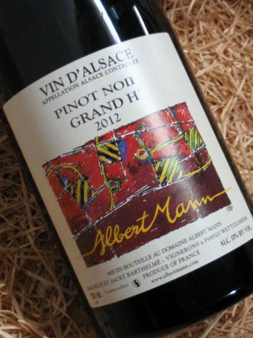 [SOLD-OUT] Albert Mann Grand H Pinot Noir 2012