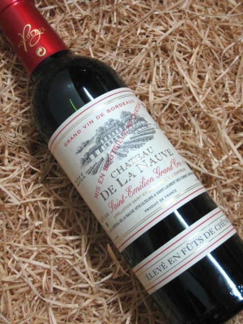 [SOLD-OUT] Chateau de la Nauve St-Emilion Grand Cru 2011 375mL-Half-Bottle