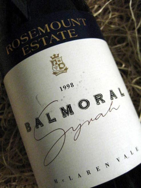 Rosemount Balmoral Shiraz 1998