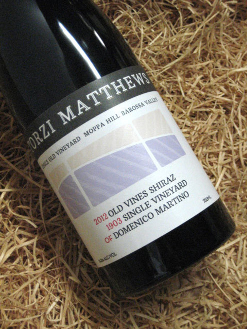 [SOLD-OUT] Torzi Matthews '1903' Old Vines Shiraz 2012