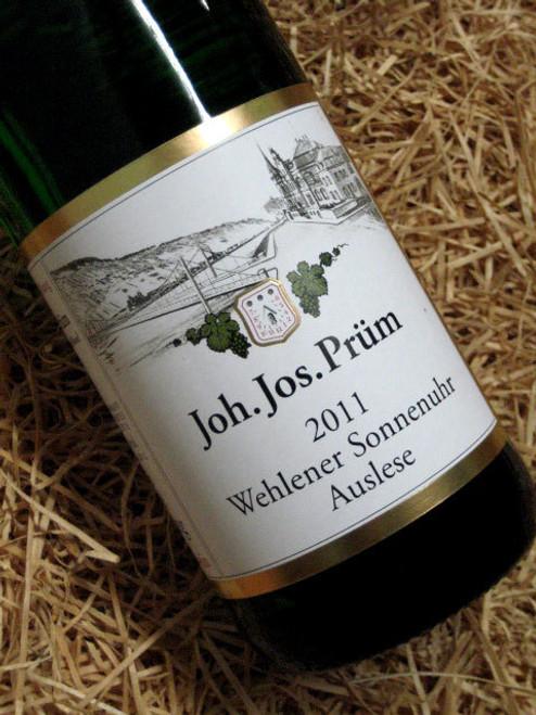 [SOLD-OUT] JJ Prum Wehlener Sonnenuhr Auslese GOLDKAPSEL 2011