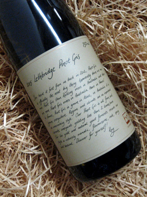 [SOLD-OUT] Lethbridge Pinot Gris 2015