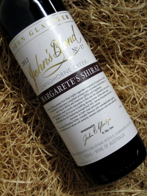 [SOLD-OUT] John's Blend Margarete Shiraz 2012
