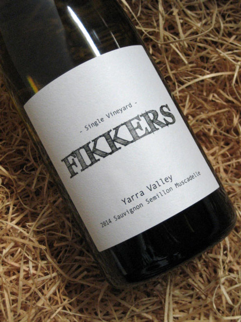 [SOLD-OUT] Fikkers Single Site Sauvignon Blanc Semillon Muscadelle 2014