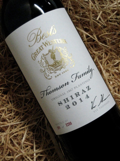 [SOLD-OUT] Best's Thomson Family Shiraz 2014