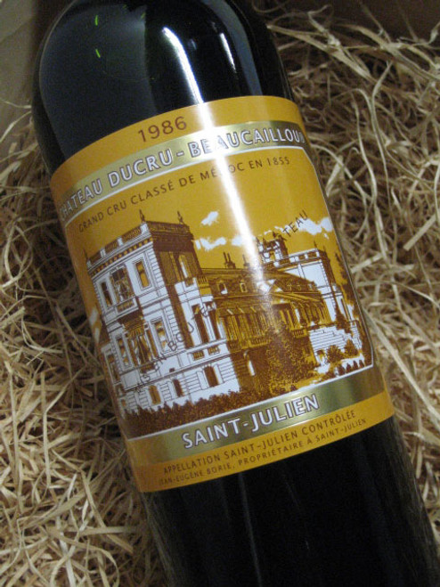 [SOLD-OUT] Chateau Ducru Beaucaillou 1986