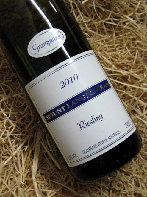 [SOLD-OUT] Mount Langi Ghiran Riesling 2010