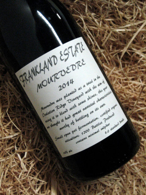 [SOLD-OUT] Frankland Estate Mourvedre 2014