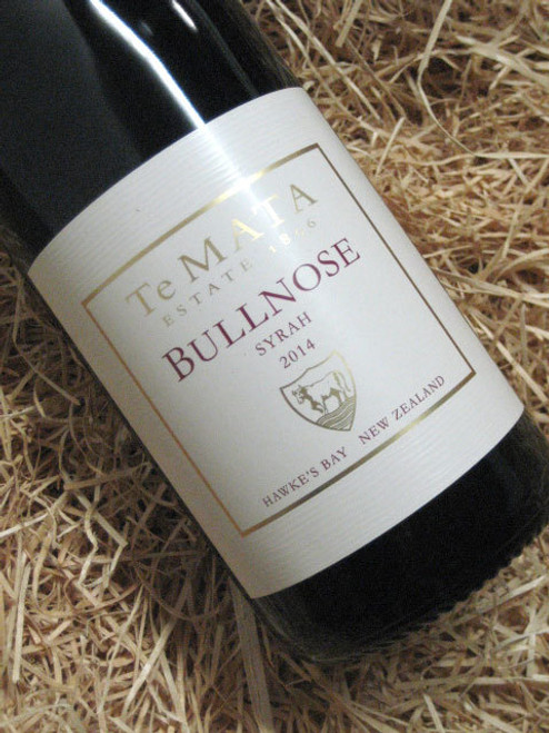 [SOLD-OUT] Te Mata Bullnose Syrah 2014