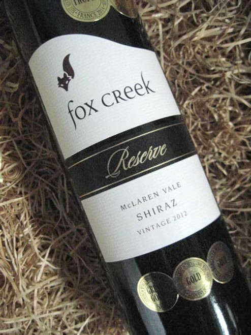 [SOLD-OUT] Fox Creek Reserve Shiraz 2012