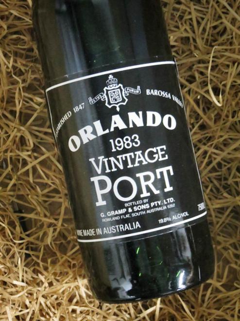 Orlando Vintage Port 1983