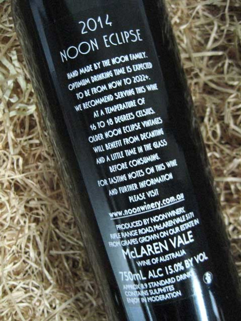 [SOLD-OUT] Noon Winery Eclipse Grenache Shiraz 2014