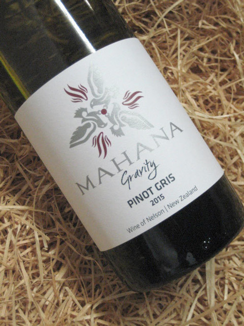 [SOLD-OUT] Mahana Gravity Pinot Gris 2015