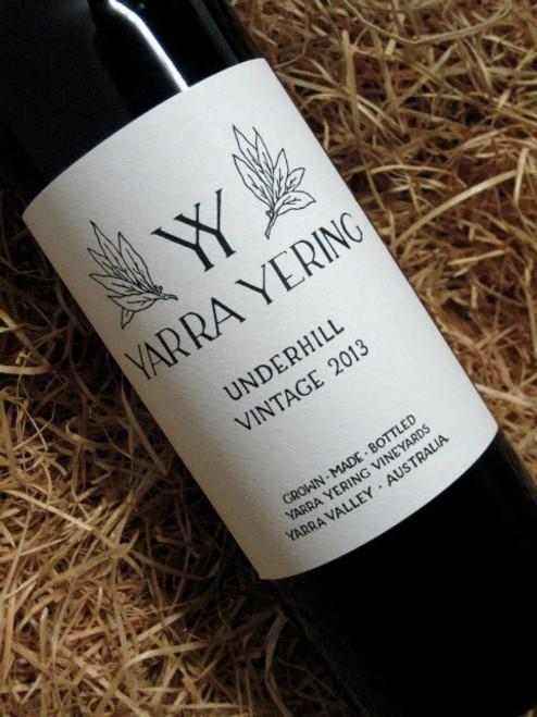 [SOLD-OUT] Yarra Yering Underhill Shiraz 2013
