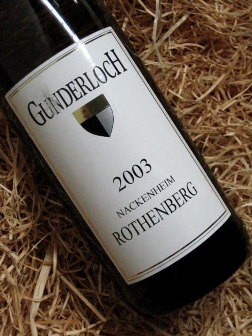 [SOLD-OUT] Gunderloch Nackenheim Rothenberg Grosses Gewachs 2003