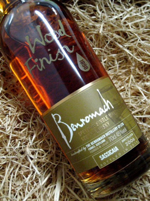 [SOLD-OUT] Benromach 'Sassicaia' Finish 2006 45%
