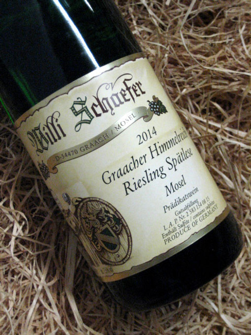 [SOLD-OUT] Willi Schaefer Graacher Himmelreich Riesling Spatlese 2014