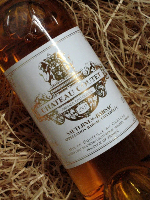 [SOLD-OUT] Chateau Coutet Barsac 2007 375mL-Half-Bottle
