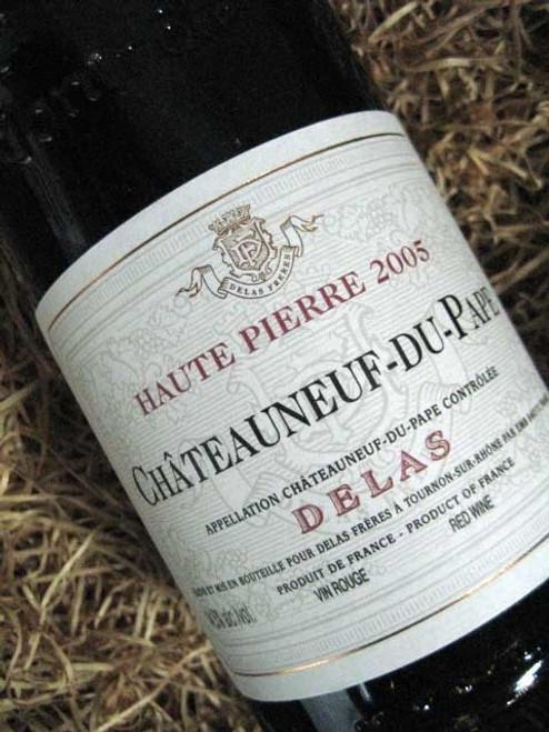 Delas-Freres-Chateauneuf-Du-Pape-Haute-Pierre-Rouge-2005