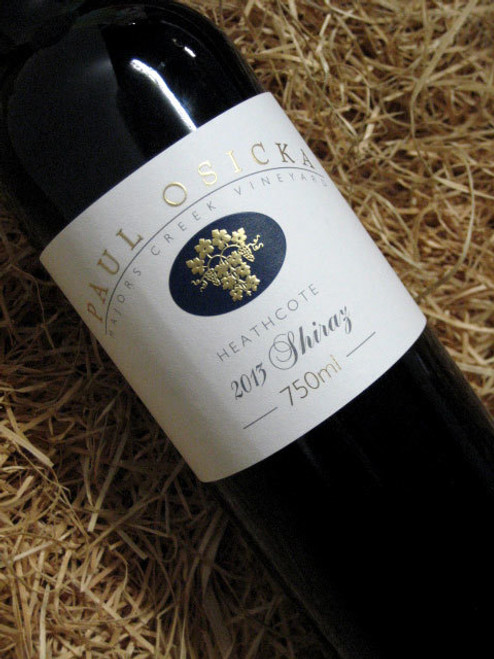 [SOLD-OUT] Paul Osicka Shiraz 2013