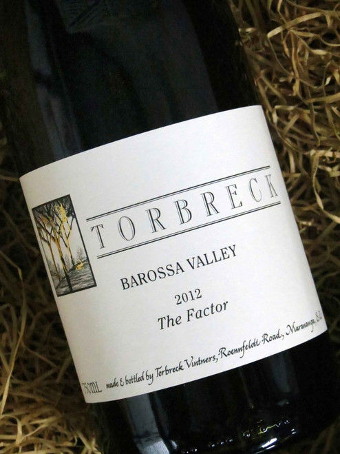[SOLD-OUT] Torbreck The Factor Shiraz 2012