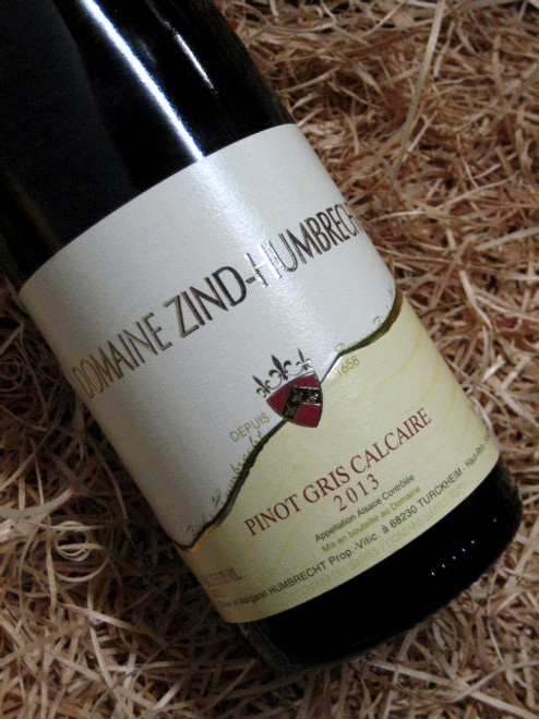 [SOLD-OUT] Domaine Zind Humbrecht Pinot Gris Calcaire 2013