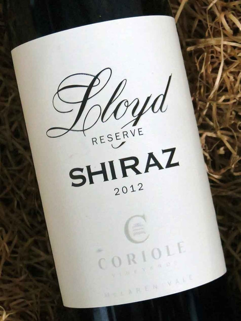 [SOLD-OUT] Coriole Lloyd Reserve Shiraz 2012