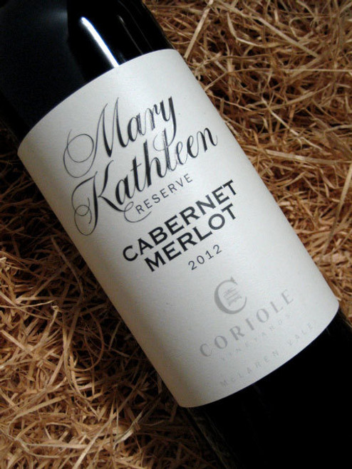 [SOLD-OUT] Coriole Mary Kathleen Reserve Cabernet Merlot 2012