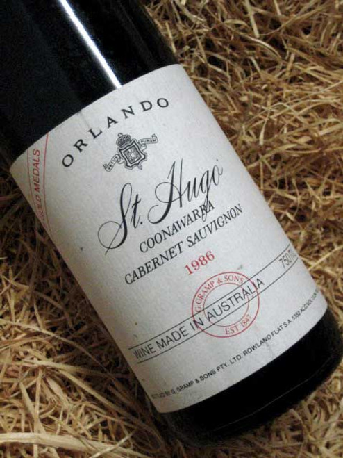 [SOLD-OUT] Orlando Jacobs Creek St Hugo Cabernet Sauvignon 1986 (Minor Damaged Label)