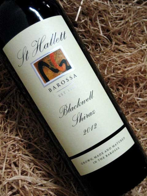 [SOLD-OUT] St Hallett Blackwell Shiraz 2012