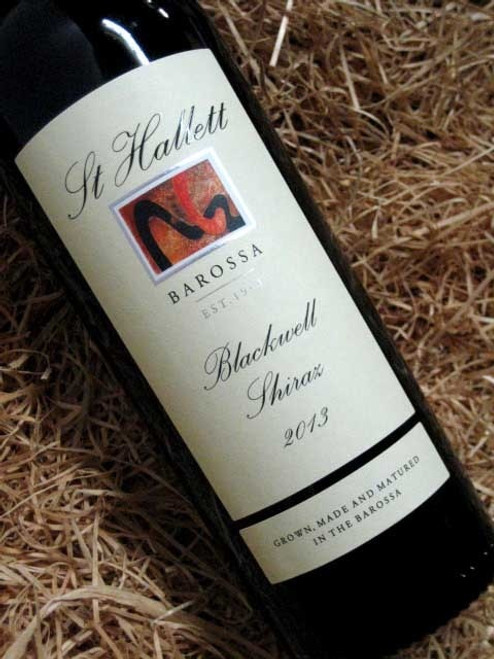 [SOLD-OUT] St Hallett Blackwell Shiraz 2013