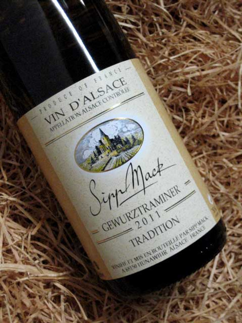 [SOLD-OUT] Sipp Mack Gewurztraminer Tradition 2011