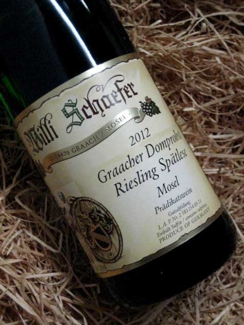 [SOLD-OUT] Willi Schaefer Graacher Domprobst Riesling Spatlese 2012