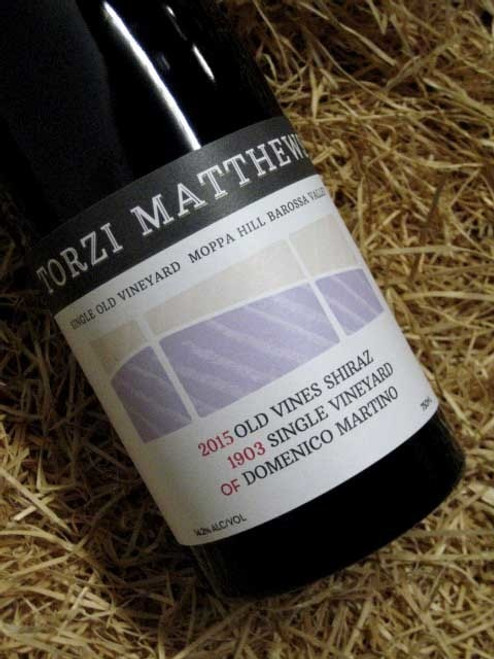 [SOLD-OUT] Torzi Matthews '1903' Old Vines Shiraz 2015