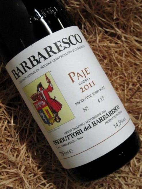 [SOLD-OUT] Produttori del Barbaresco Paje Riserva 2011