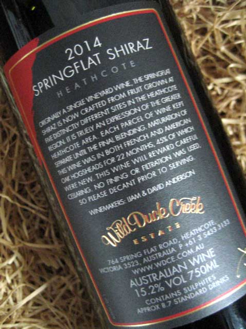 Wild-Duck-Creek-Springflat-Shiraz-2014