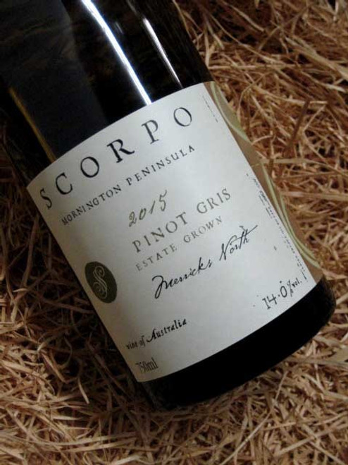 [SOLD-OUT] Scorpo Pinot Gris 2015