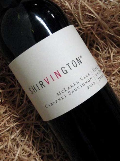 [SOLD-OUT] Shirvington Cabernet Sauvignon 2012