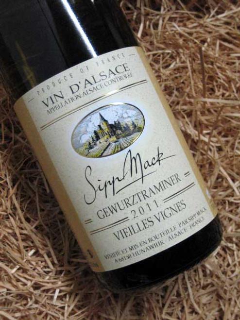 [SOLD-OUT] Sipp Mack Gewurztraminer Vielles Vignes 2011