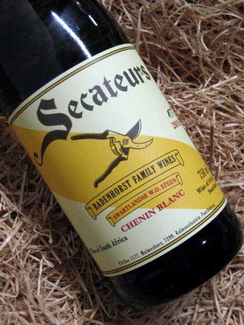 [SOLD-OUT] AA Badenhorst 'Secateurs' Chenin Blanc 2015