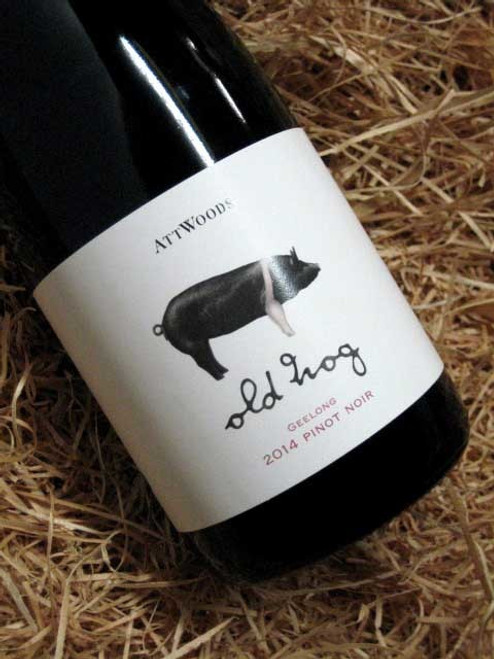 [SOLD-OUT] Attwoods Old Hog Geelong Pinot Noir 2014