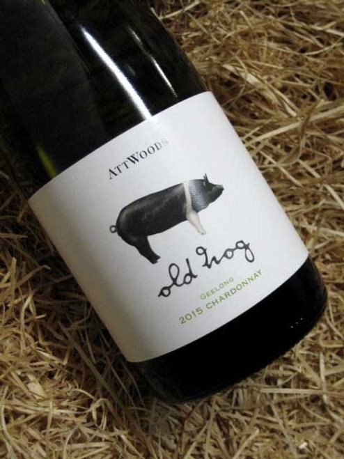 [SOLD-OUT] Attwoods Old Hog Geelong Chardonnay 2015