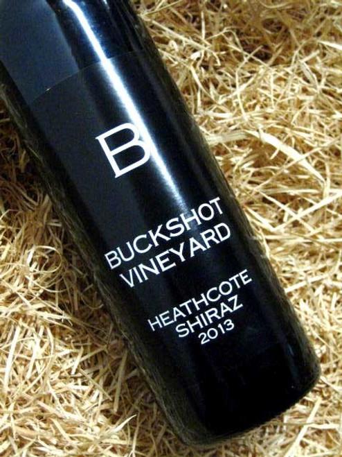 [SOLD-OUT] Buckshot Vineyard Heathcote Shiraz 2013
