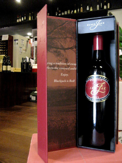 [SOLD-OUT] Blackjack Block 6 Shiraz 2012 GIFT