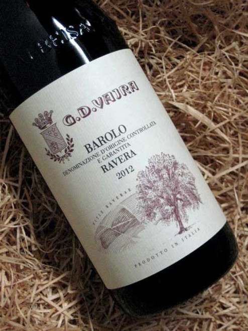 [SOLD-OUT] G.D. Vajra Barolo Ravera 2012 DOCG