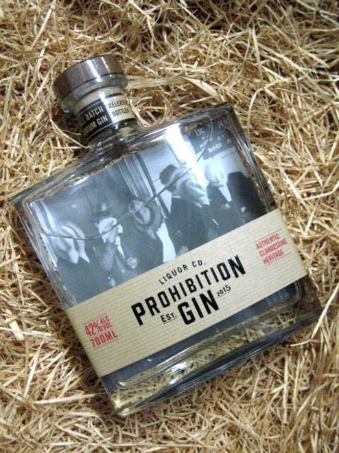 [SOLD-OUT] Prohibition Gin Carafe 700mL