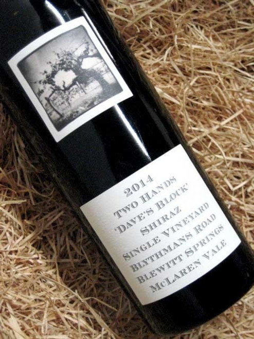 [SOLD-OUT] Two Hands Dave's Block Shiraz 2014