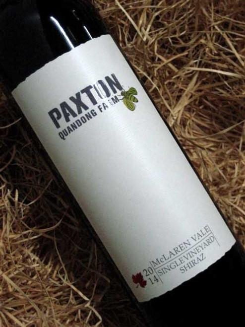[SOLD-OUT] Paxton Quandong Farm Shiraz 2014