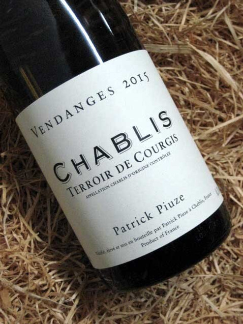 [SOLD-OUT] Patrick Piuze Courgis Chablis 2015