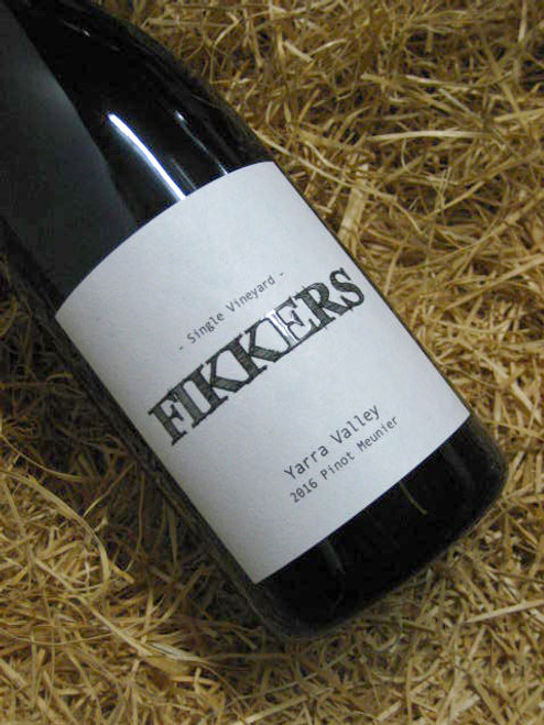 [SOLD-OUT] Fikkers Single Vineyard Pinot Meunier 2016